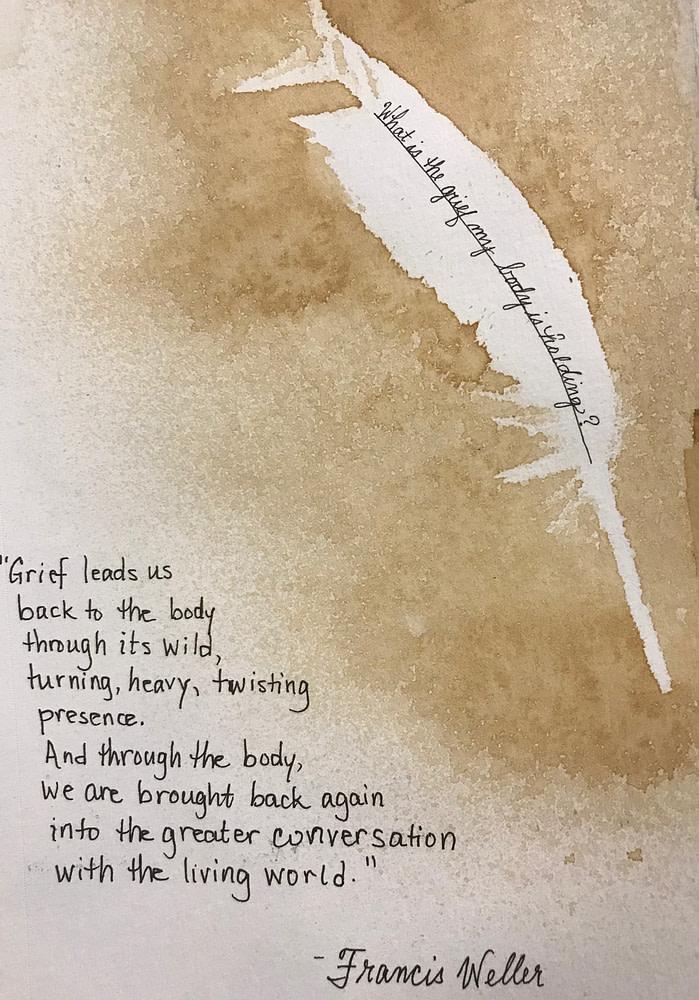 Frances Weller on grief